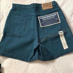 Exchange jean shorts
